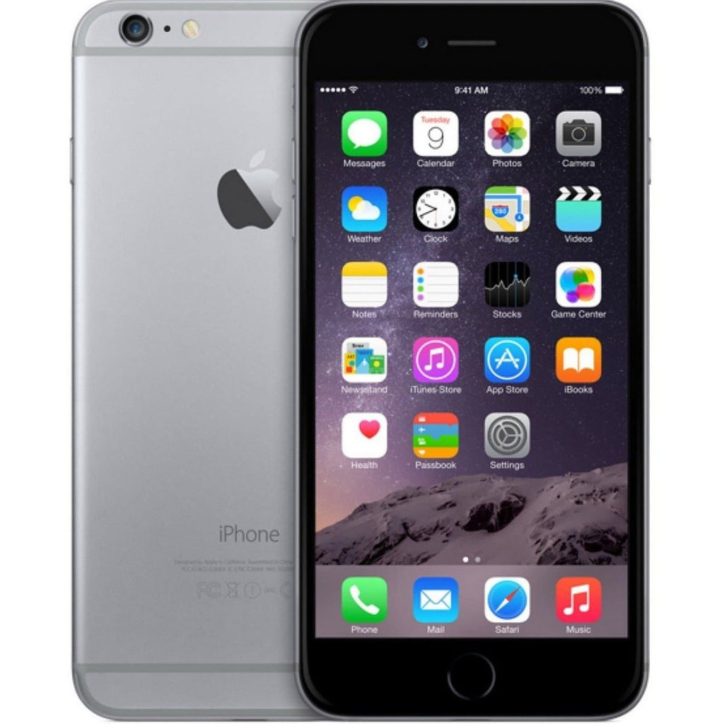 Apple iPhone 6 Plus Space Grey - (128GB) - EE, T Mobile, Virgin, Orange - Good Condition