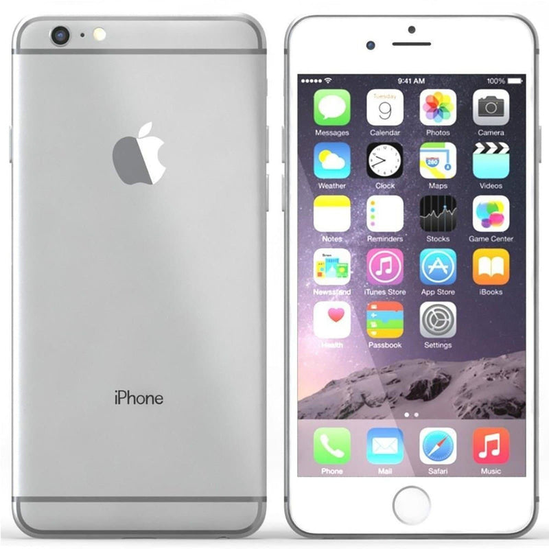 Apple iPhone 6 Silver - (128GB) - Unlocked - Good Condition