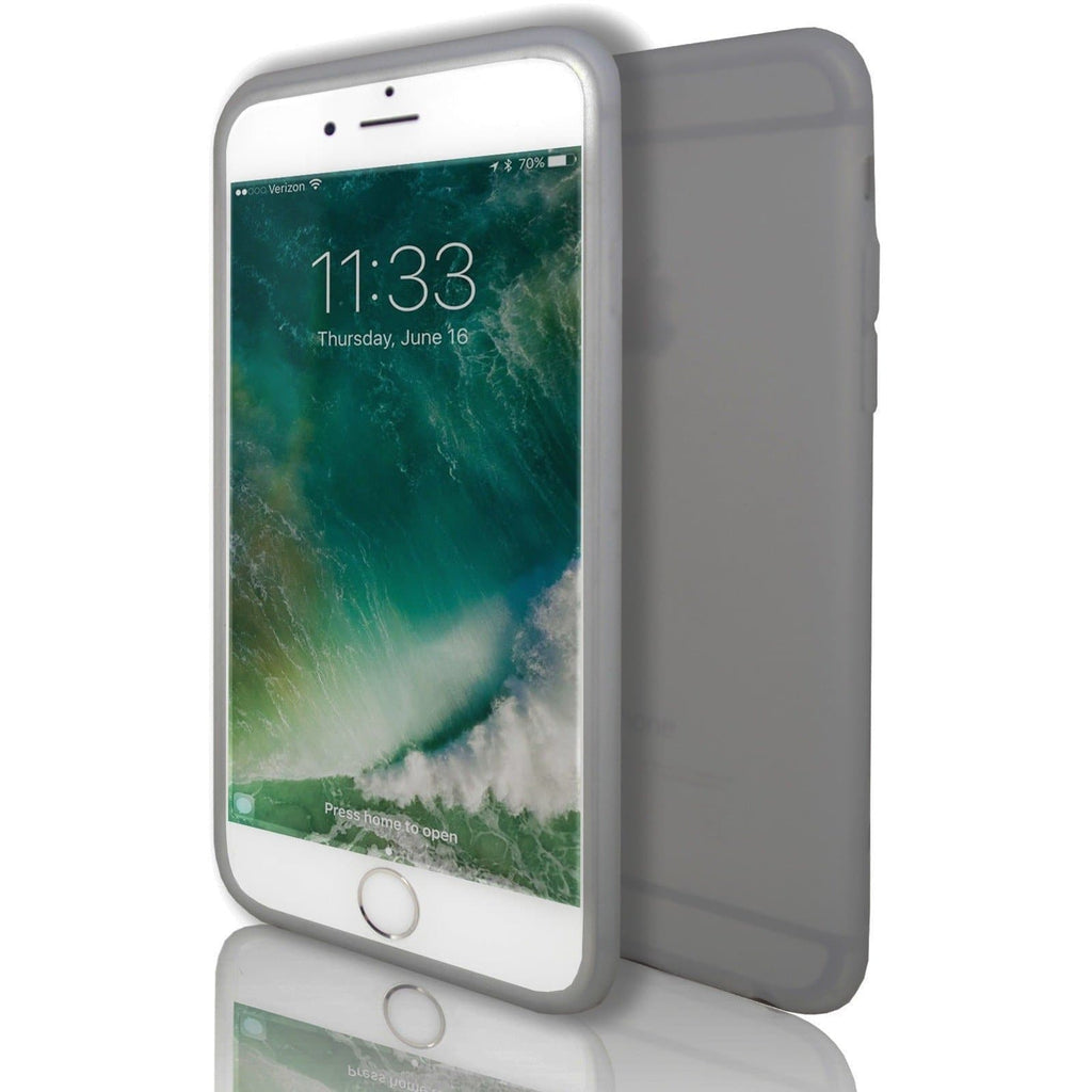 iPhone 6 / 6S - Hydro Gel Soft Silicone Protective Case - Smoked