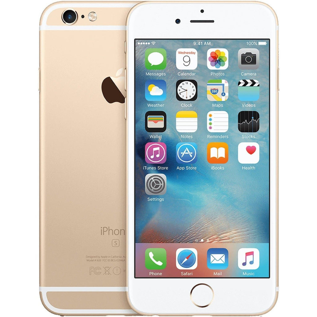 Apple iPhone 6S - Champagne Gold - (128GB) - EE T-Mobile Orange Virgin - Good Condition