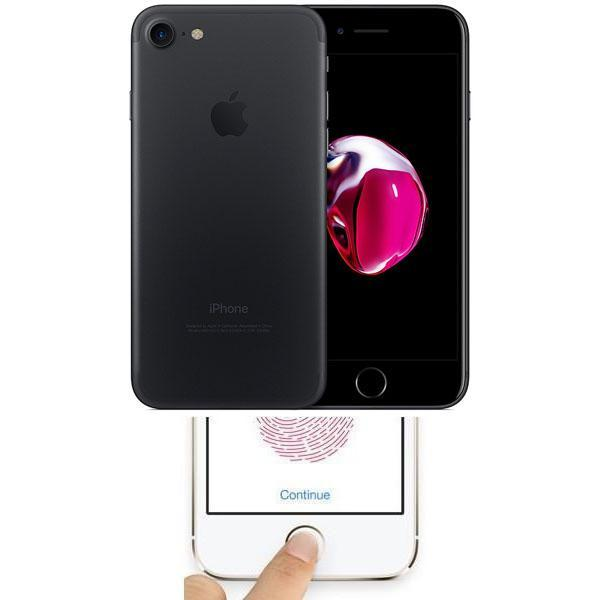 Apple iPhone 7 Black 32GB Unlocked Faulty Touch ID / Home Button
