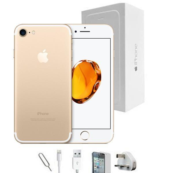 Apple iPhone 7 Gold (128GB) - Unlocked -  Grade A Full Bundle