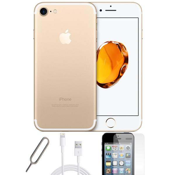 Apple iPhone 7 Gold (32GB) - Unlocked -  Pristine Basic Bundle