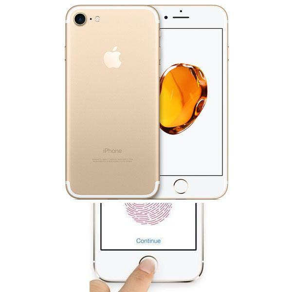 Apple iPhone 7 Plus Gold 32GB Unlocked Faulty Touch ID / Home Button