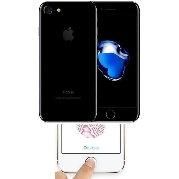 Apple iPhone 7 Jet Black (128GB) Unlocked Faulty Touch ID / Home Button