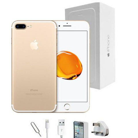 Apple iPhone 7 Plus Champagne Gold (32GB) Unlocked Grade A Full Bundle