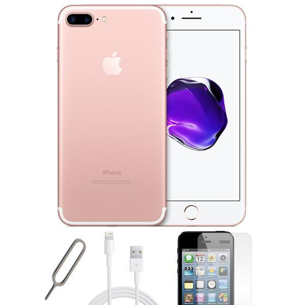 Apple iPhone 7 Plus Rose Gold (256GB) - Unlocked - Pristine Basic Bundle