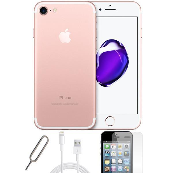 Apple iPhone 7 Rose Gold - (256GB) - Unlocked -  Pristine Basic Bundle