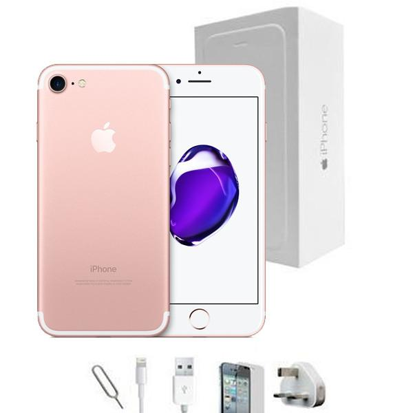 Apple iPhone 7 Rose Gold (32GB) - Unlocked -  Grade A Full Bundle