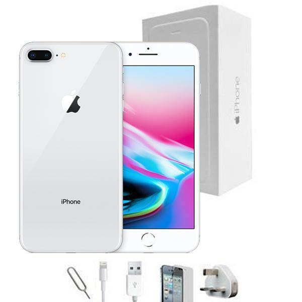472afe30953 Reconditioned Apple iPhone 7 Plus 256GB Silver Unlocked Grade A Bundle