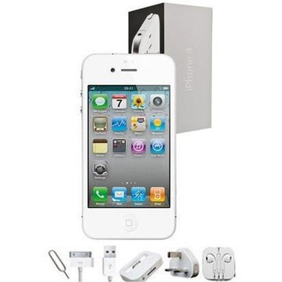 Apple iPhone 4 (16GB) - White - Factory Unlocked - Grade A