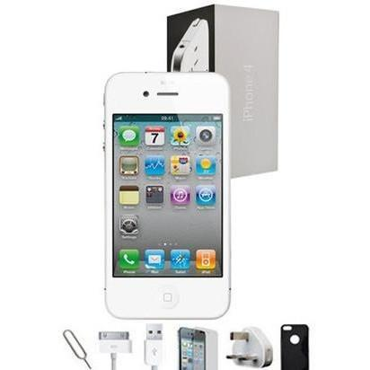 Apple iPhone 4 - (16GB) White Factory Unlocked Grade A