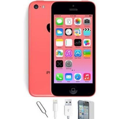 Apple iPhone 5C (16GB) - Pink - Factory Unlocked - Grade A Bundle