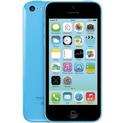 Apple iPhone 5C - Blue - (8GB) - Unlocked To EE T-Mobile Virgin Orange - Good Condition