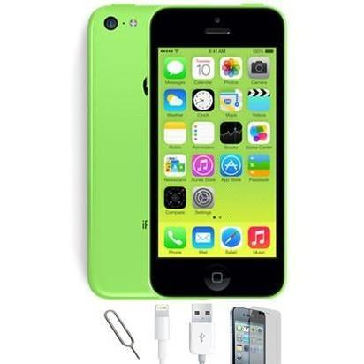 Apple iPhone 5C - (8GB) Green Unlocked Grade A Bundle 8GB