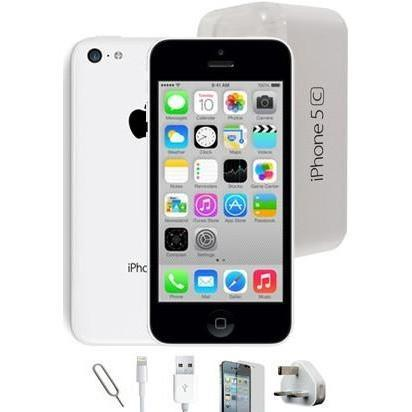 Apple iPhone 5C (8GB) - White - Factory Unlocked - Grade A Full Bundle