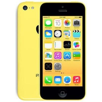 Apple iPhone 5C - Yellow - (8GB) - Locked To EE T-Mobile Virgin Orange - Good Condition