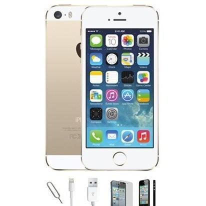 Apple iPhone 5S - (16GB) Champagne Gold Factory Unlocked Grade A