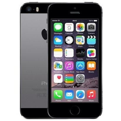 Apple iPhone 5S - Space Grey - (16GB) - Locked To EE Orange T-Mobile Virgin Mobile - Good Condition