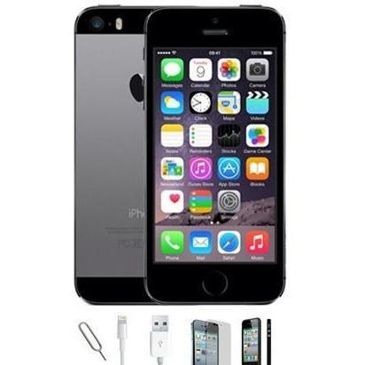 Apple iPhone 5S - Space Grey - (16GB)  Unlocked - Grade A