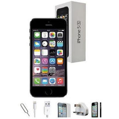 Refurbished Apple iPhone 5S - Space Grey - (16GB) - Unlocked - Grade A - Full Bundle