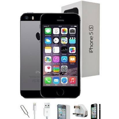 Apple iPhone 5S (32GB) - Space Grey - Factory Unlocked - Grade A Full Bundle