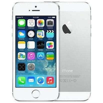 Apple iPhone 5S - White / Silver - (32GB) - Unlocked - Good Condition