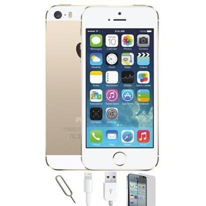 Apple iPhone 5S (64GB) - Champagne Gold - Factory Unlocked - Grade A Bundle