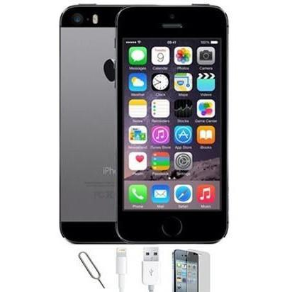 Apple iPhone 5S - (64GB) Space Grey Factory Unlocked Grade A Bundle