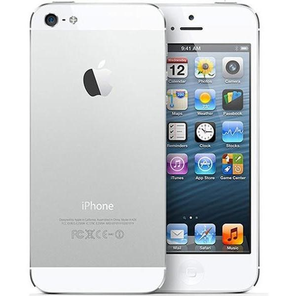 Apple iPhone 5 - 16 GB - White and Silver (Unlocked) Smartphone