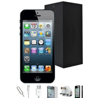 Apple iPhone 5 - (16GB) Black Factory Unlocked Grade A