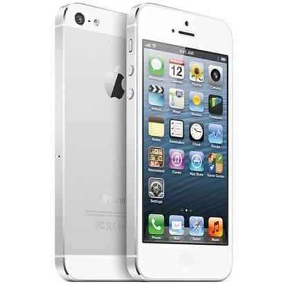 Apple iPhone 5 White & Silver O2, Giff Gaff, Tesco Mobile, Lyca Mobile (16GB)
