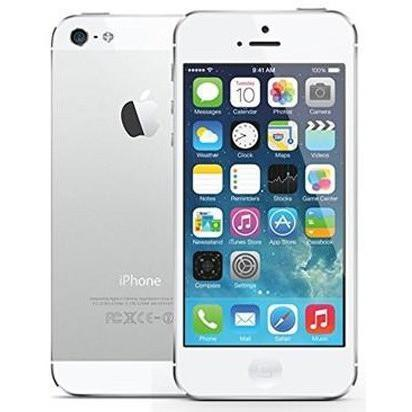 Apple iPhone 5 (16GB) - White & Silver - Factory Unlocked
