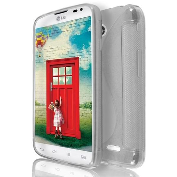 LG L65 / L70 - Clear S Line Gel Silicone Case