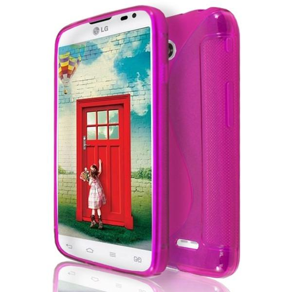LG L65 / L70 - Pink S Line Gel Silicone Case