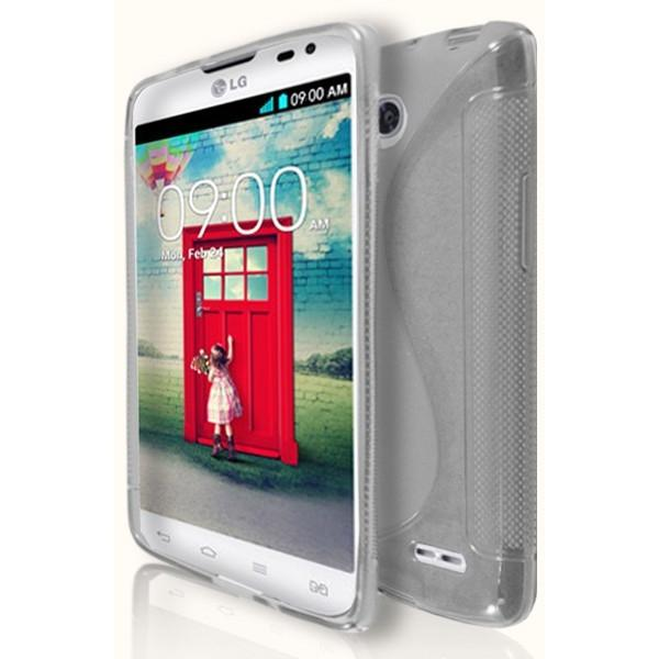 LG L90 - Clear S Line Gel Silicone Case