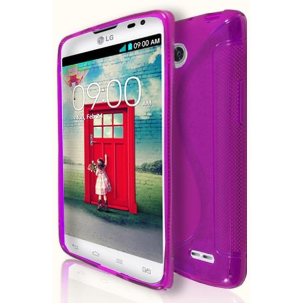LG L90 - Pink S Line Gel Silicone Case