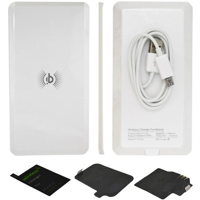 Qi Charger For Samsung S4 Wireless Charging Pad + Receiver