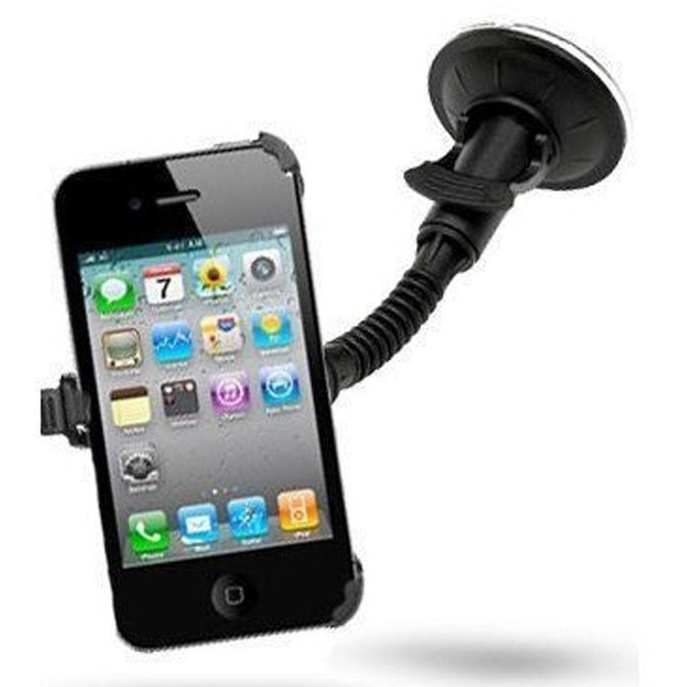 Add-on - Car Mount Windscreen Holder Cradle Kit For IPhone 4