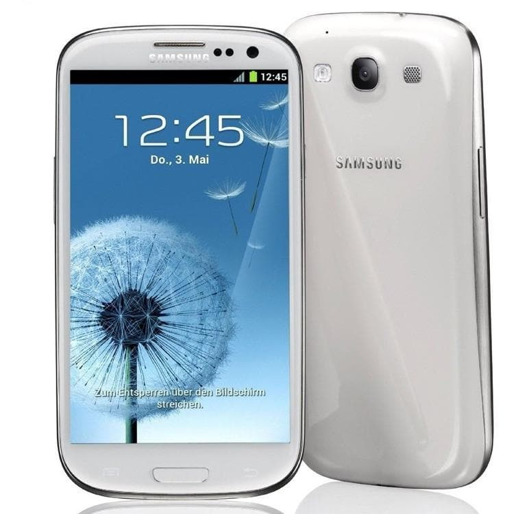 Add-on - Samsung Galaxy S III GT-I9300 - 16 GB - Marble White (Unlocked)