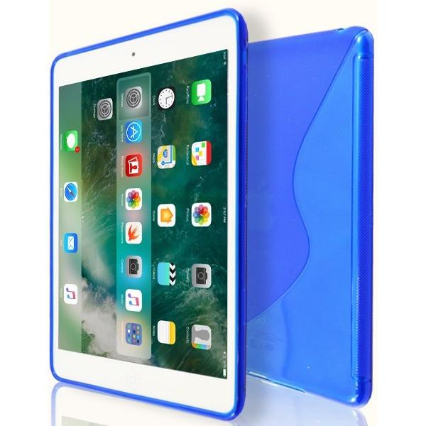iPad Mini 1 / 2 / 3 - S Line Gel Soft Silicone Case  - Blue