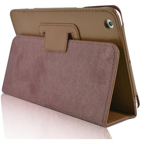 Apple iPad Air 2 - Flip Stand Protective Leather Case - Brown