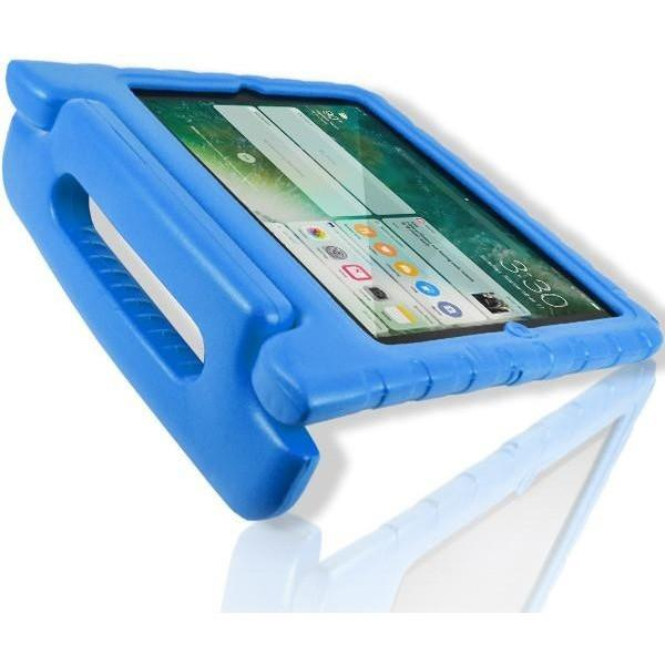 iPad Air - Super protective Kids Foam Case Cover Stand - Blue
