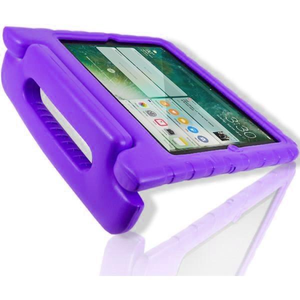 "iPad Pro 9.7"" - Super protective Kids Foam Case Cover Stand -  Purple"