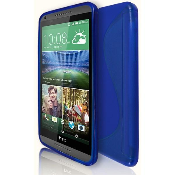 HTC Desire 816 - Blue S Line Gel Silicone Case