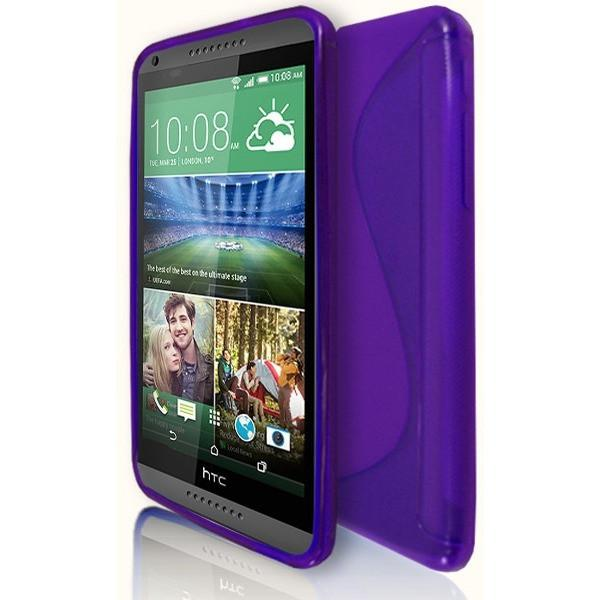 HTC Desire 816 - S Line Gel Silicone Case - Purple