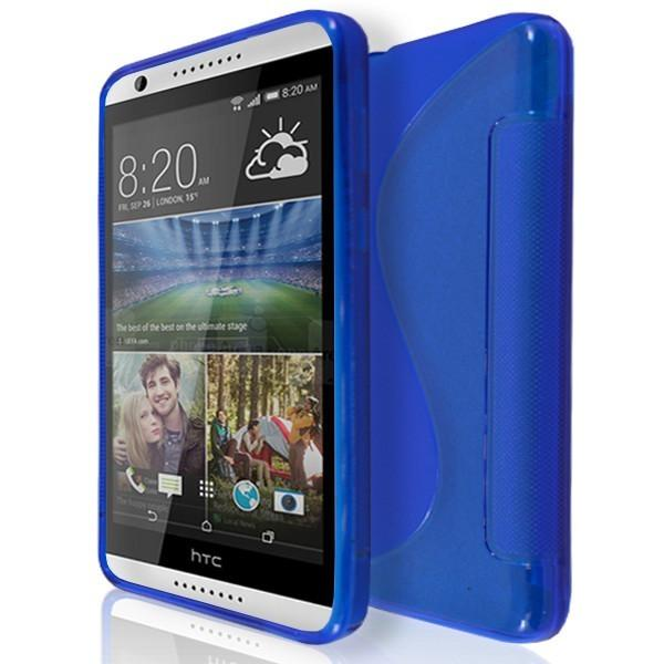 HTC Desire 820 - S Line Gel Silicone Case - Blue