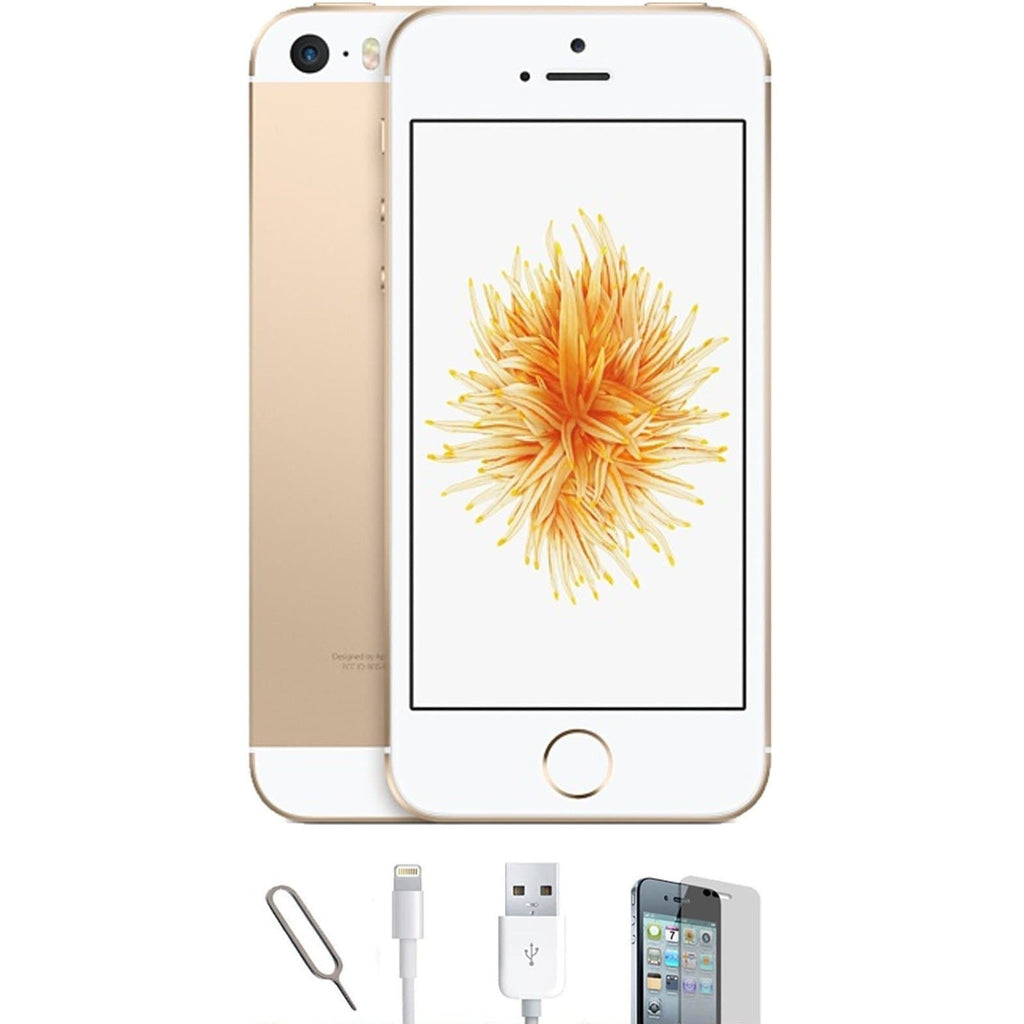Apple iPhone SE - (64GB) Champagne Gold Unlocked Grade A Bundle