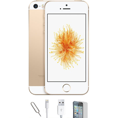 Apple iPhone SE - (16GB) Champagne Gold Unlocked Grade A Bundle
