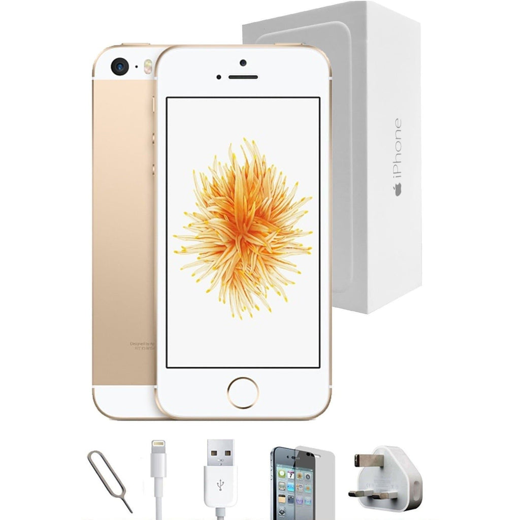 Apple iPhone SE Champagne Gold - (64GB) - Unlocked - Grade A Full Bundle